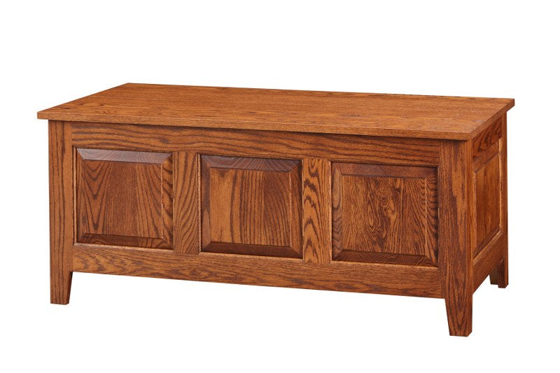 Three Panel Shaker Cedar Chest (Cedar Chests #4219-22)