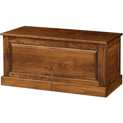 3-Sided Blanket Chest (Pine IE #40)