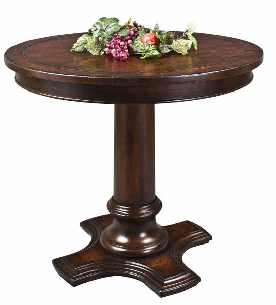 Bistro Solid Top Pedestal Table (Zimmermans #436, #437 & #439)