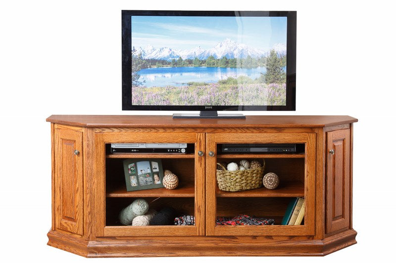 Canted Front TV Stand (Mt Pleasant #472)