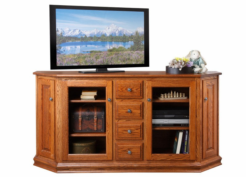 Canted TV Console (Mt Pleasant #473C)