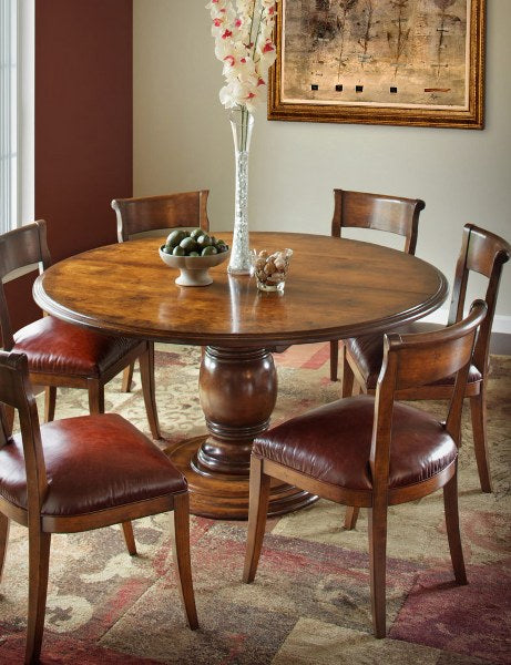 Vineyard Pedestal Table (Zimmermans #492 & #493)