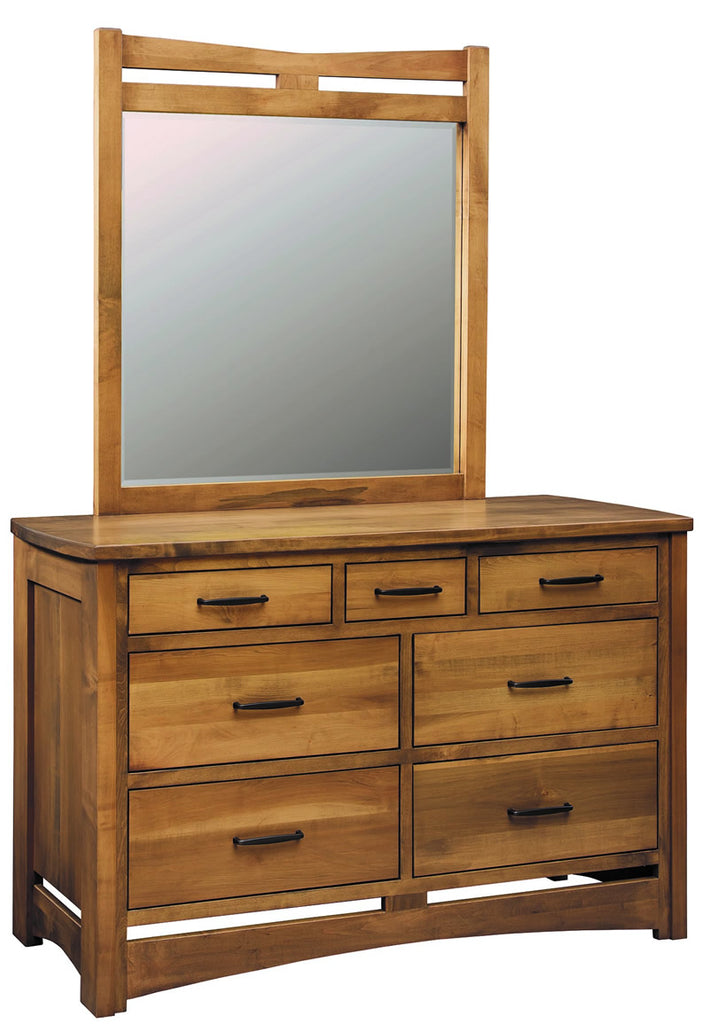Homestead Triple Dresser w/Mirror (V16 #561 & #568)