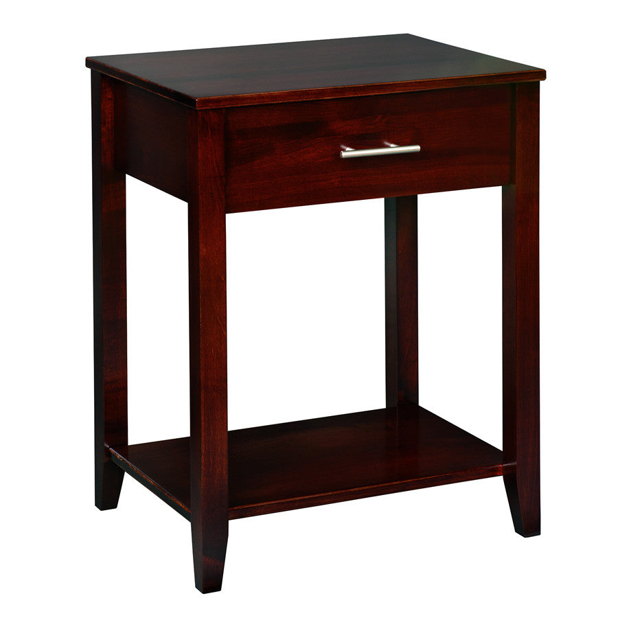 Manhattan 1-Drawer Nightstand (V16 #614)