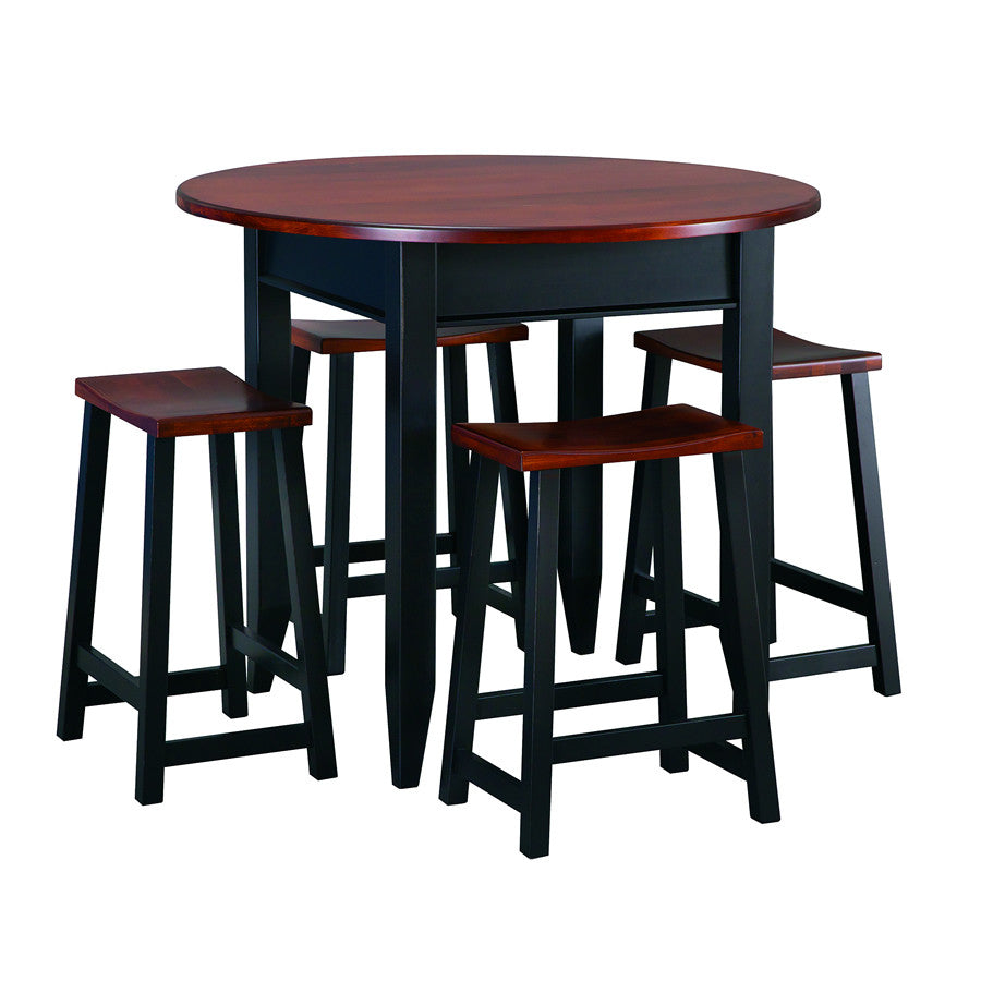 Manhattan Round High-Top Gathering Table (V16 #637-Tall)