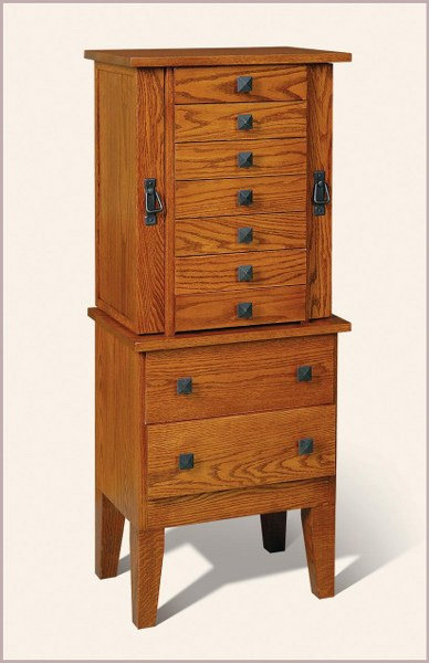 Mission Jewelry Armoire (Byerstown #824)