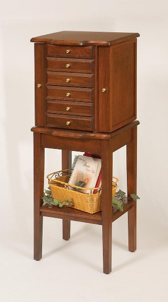 Jewelry Chest on Stand (Keepsake Collection #548)
