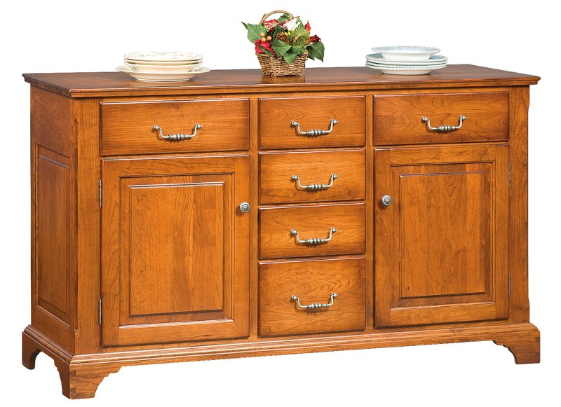 Heirloom Doors & Drawers Buffet (Zimmermans #836)