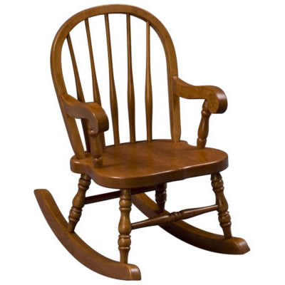 Child's Bowback Rocker  (Zimmermans LA Collection #84)