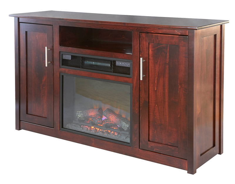 "57"" TV Stand with Fireplace (Mt Pleasant #862-6)"