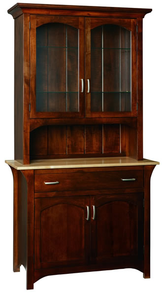 Monarch 2 Door China Cabinet (V16 # 886)