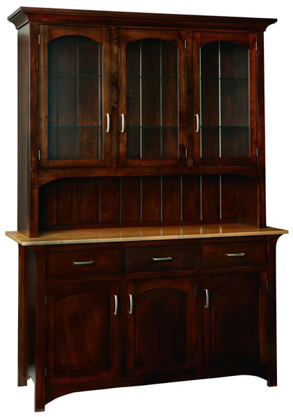 Monarch 3 Door China Cabinet (V16 #887)