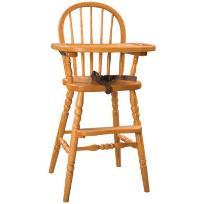 Bowback High Chair (Zimmermans LA Collection #90)