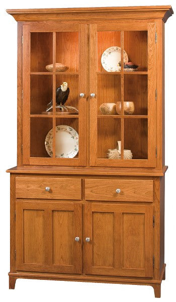 Estates China Hutch (Zimmerman #910C & #910B)