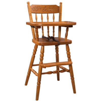 Acorn High Chair  (Zimmermans LA Collection #92)