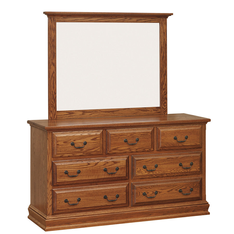 Royal Double Dresser with Mirror (OCH #96-RO + #768)