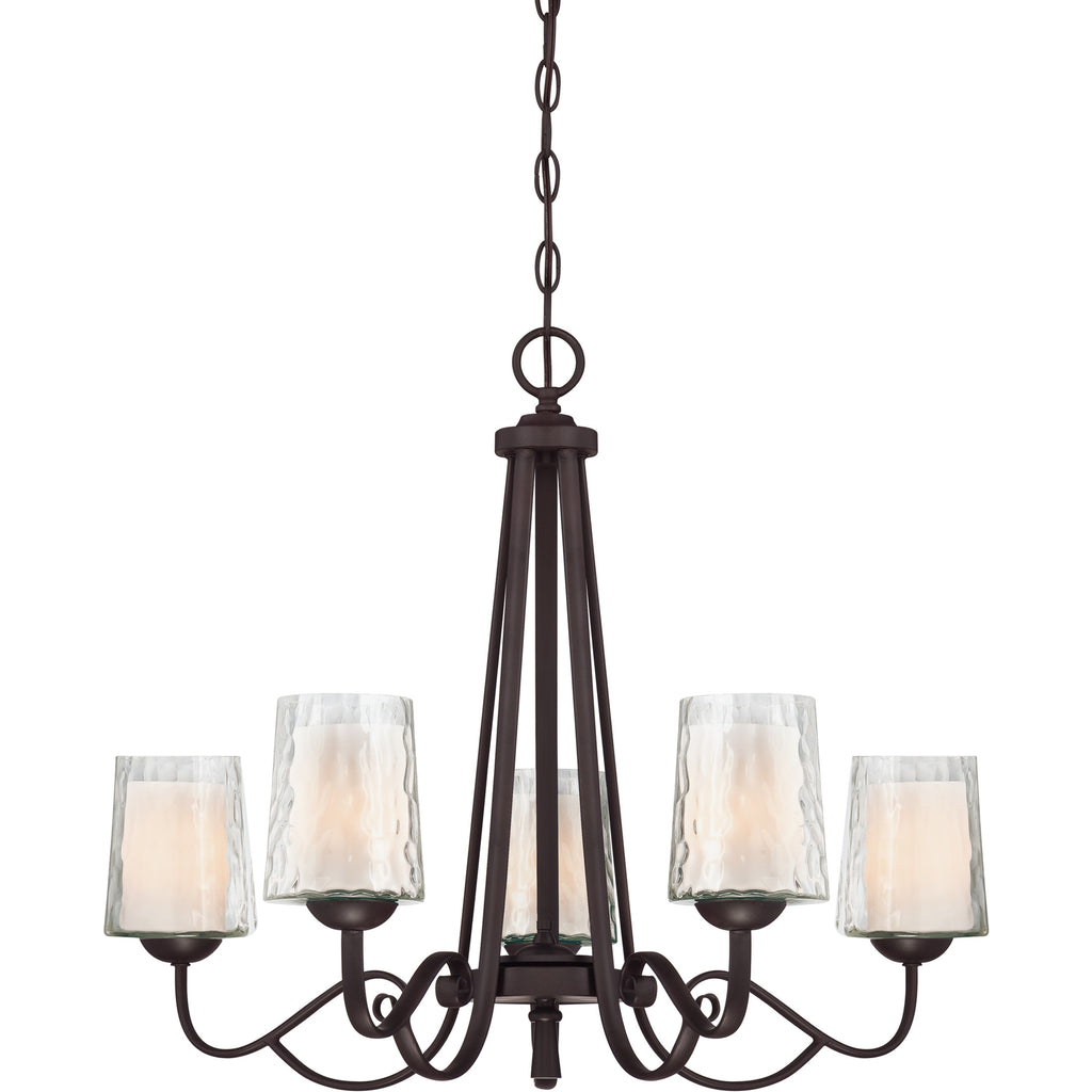 Adonis Ceiling Chandelier (Quoizel - DISCONTINUED - 1 In Stock)