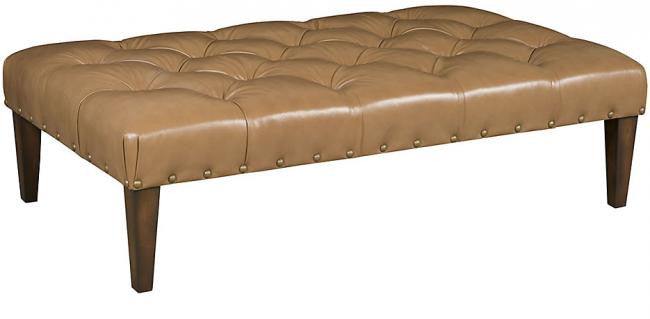 Alp Leather Ottoman (King Hickory # W-014-3660-L)