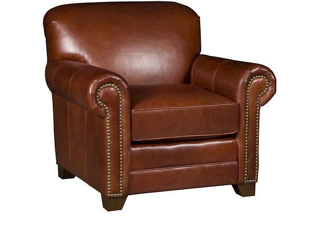 Annika Leather Chair (King Hickory # 3801-L)