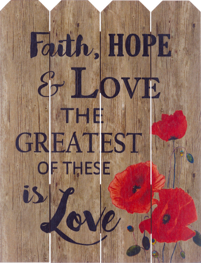 Faith, Hope, and Love (Beechdale 912PI-B0089A)