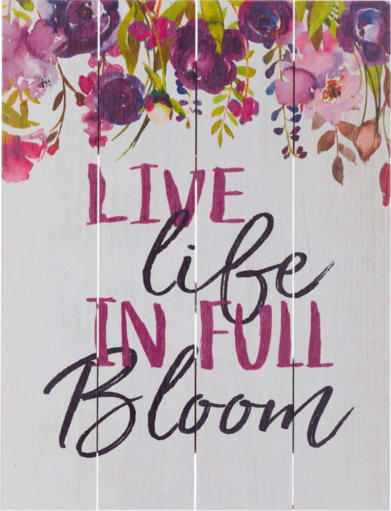 Live Life in Full Bloom (Beechdale 912PA-B0098A)