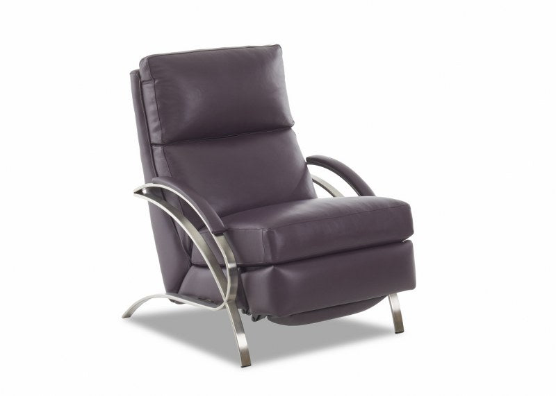 Spiral High Leg Leather Recliner (Comfort Design #CLP503)