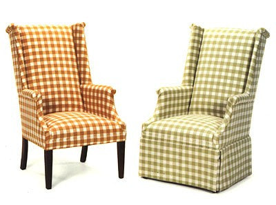Country Wingback Chairs (Friendship # 141 & # 143)