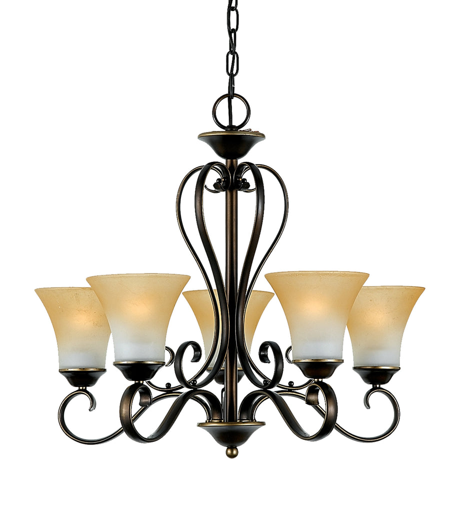 Dutchess Chandelier (Quoizel # DH5005PN)