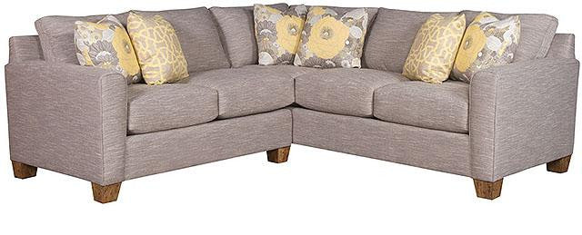 Darby Square Sectional Sofa (King Hickory #2272-FAD-F & #2263-FAD-F)