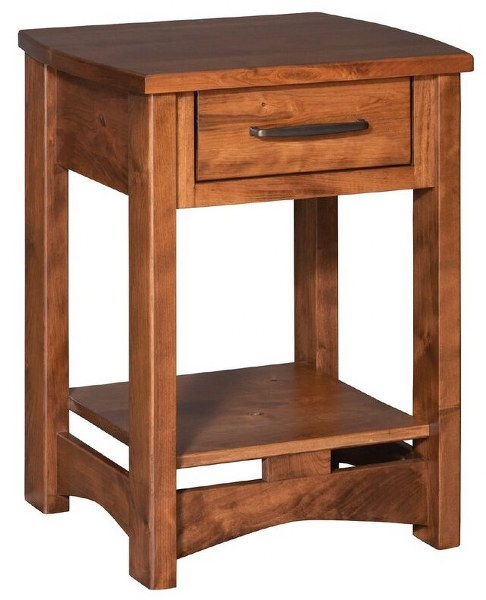 Homestead 1-Drawer Nightstand (V16 #567)