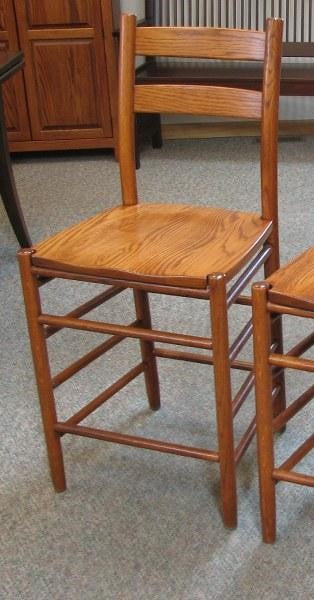 CLEARANCE: Classic Shaker Counter Chair (Keystone #2930)