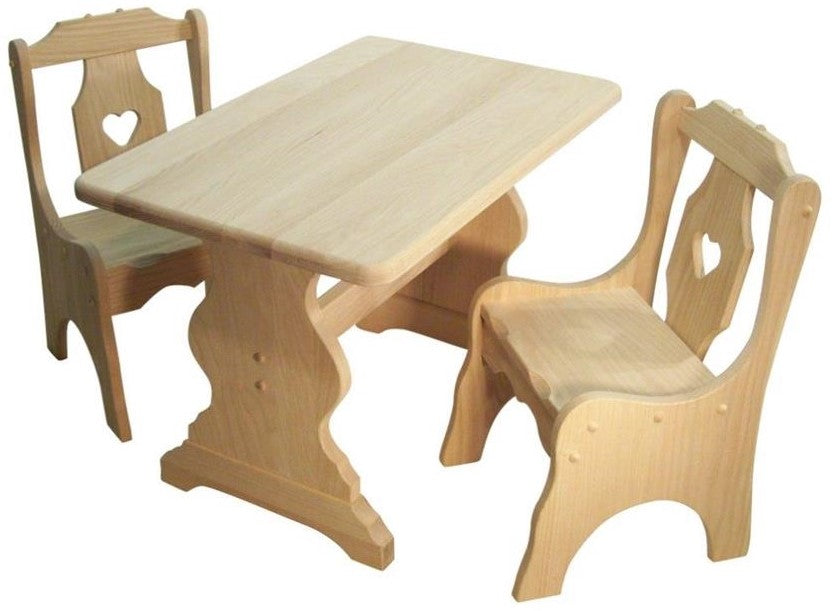 Kid's Table & Chair Set (V21 #43)