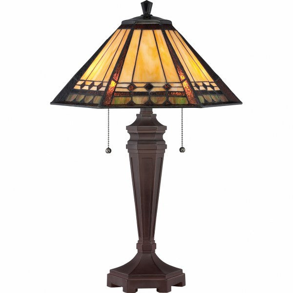 Arden Tiffany Lamp (Quoizel #TF1135T)
