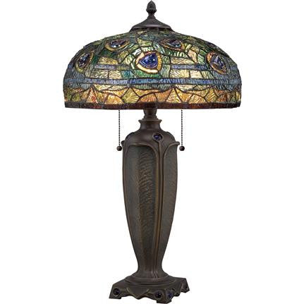 Lynch Tiffany Table Lamp (Quoizel # TF1487T)