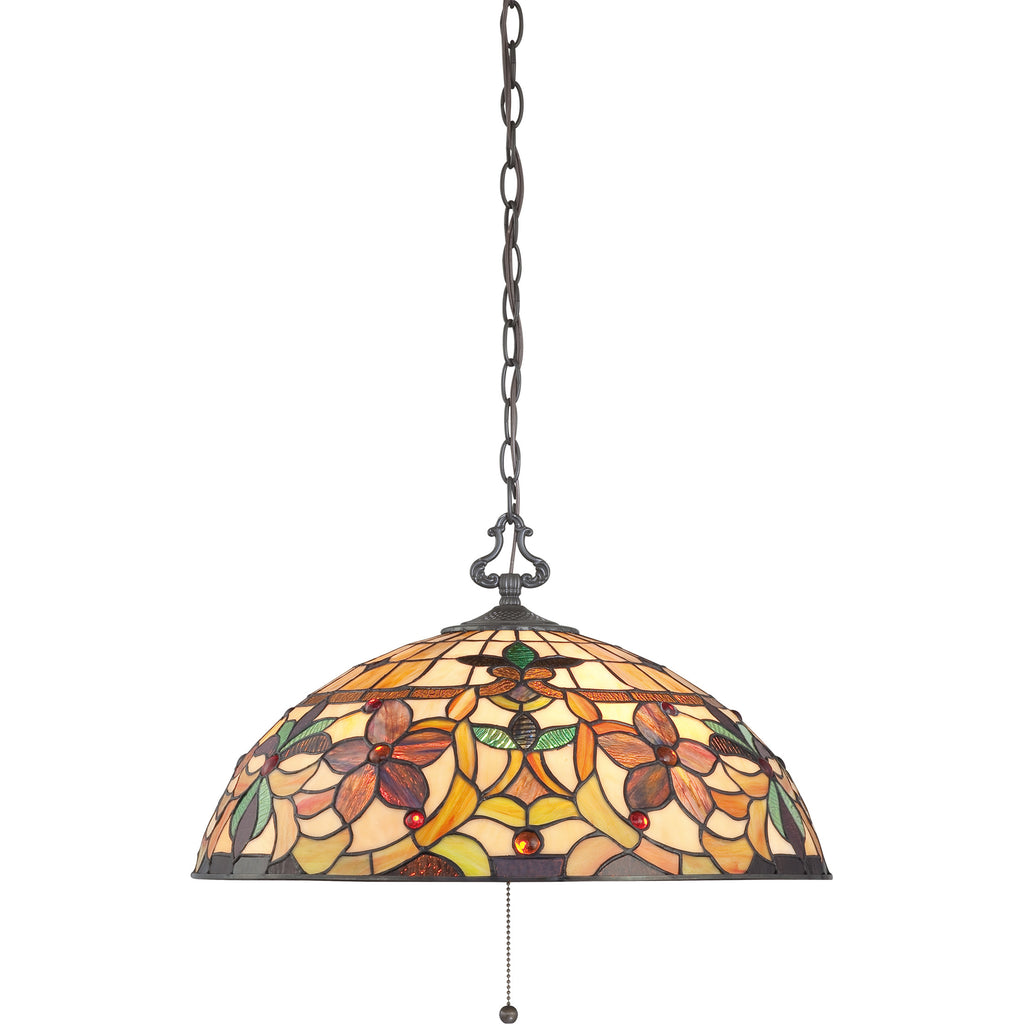 Kami Tiffany Pendant Ceiling Light (Quoizel # TF878CVB)