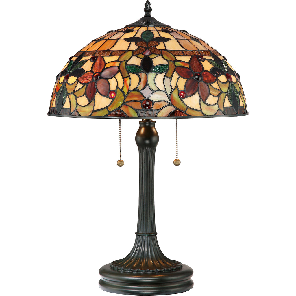 Kami Tiffany Table Lamp (Quoizel #TF878T)
