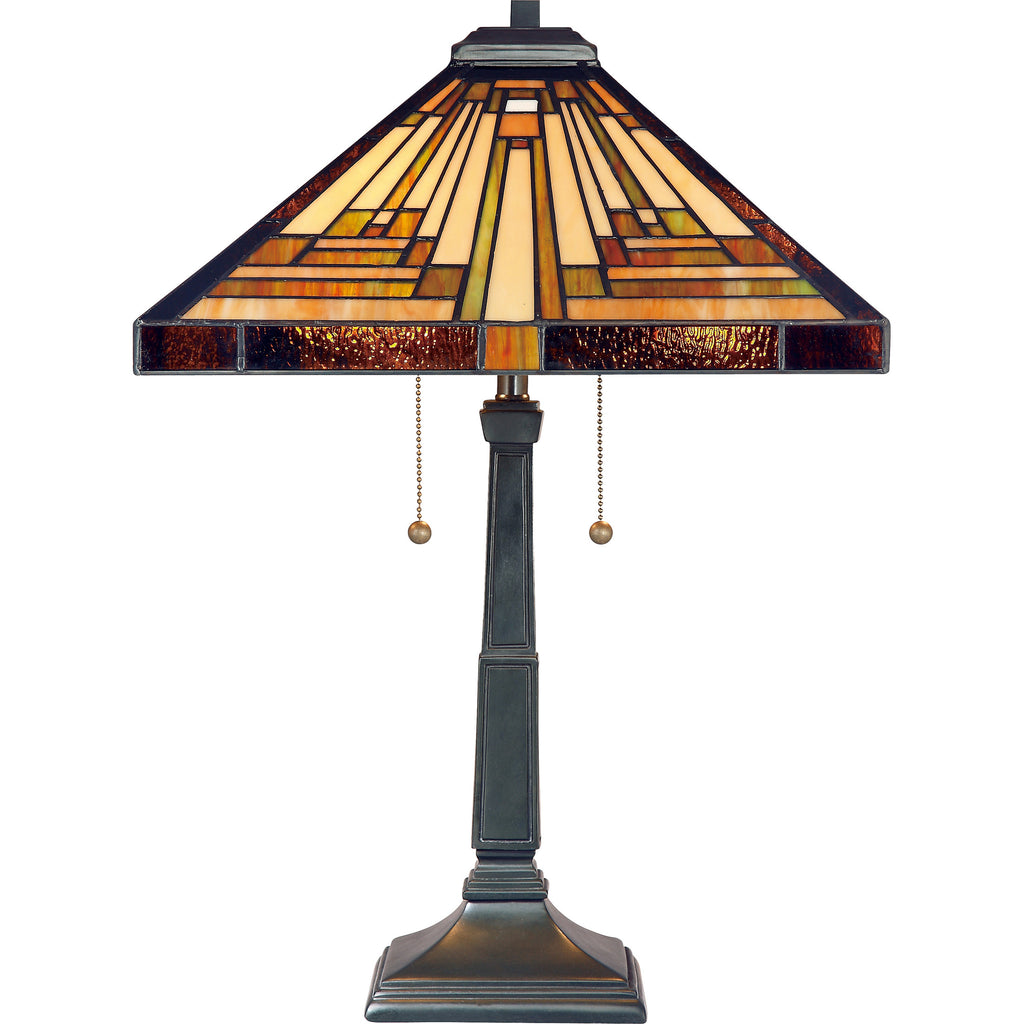 Stephen Tiffany Table Lamp (Quoizel # TF885T)