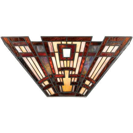 Classic Craftsman Tiffany Wall Sconce (Quoizel # TFCC8802)