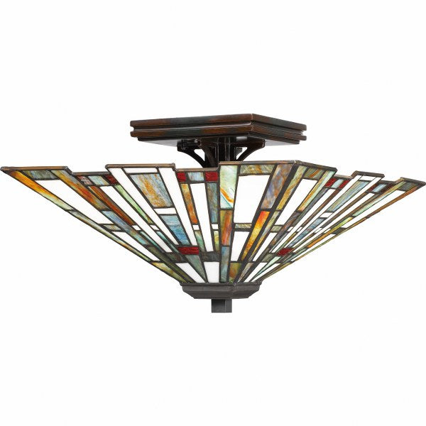 Maybeck Flush Mount Ceiling Light (Quoizel TFMK1714VA)