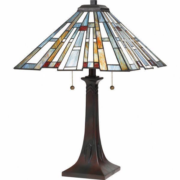 Maybeck Table Lamp (Quoizel TFMK6325VA)