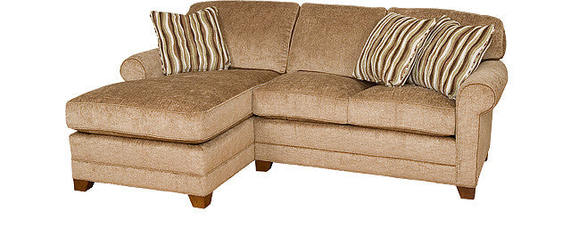 Bentley Sectional with Chaise (King Hickory # 4482 & # 4473)