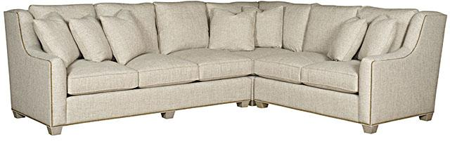 Drake Sectional (King Hickory # 6252-33G, # 626-21G & # 6273-22G)