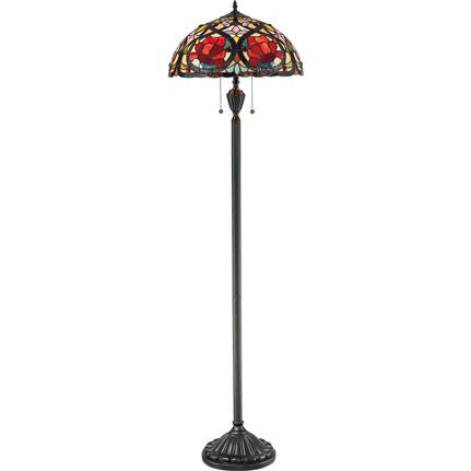 Larissa Tiffany Floor Lamp (Quoizel # TF879F)