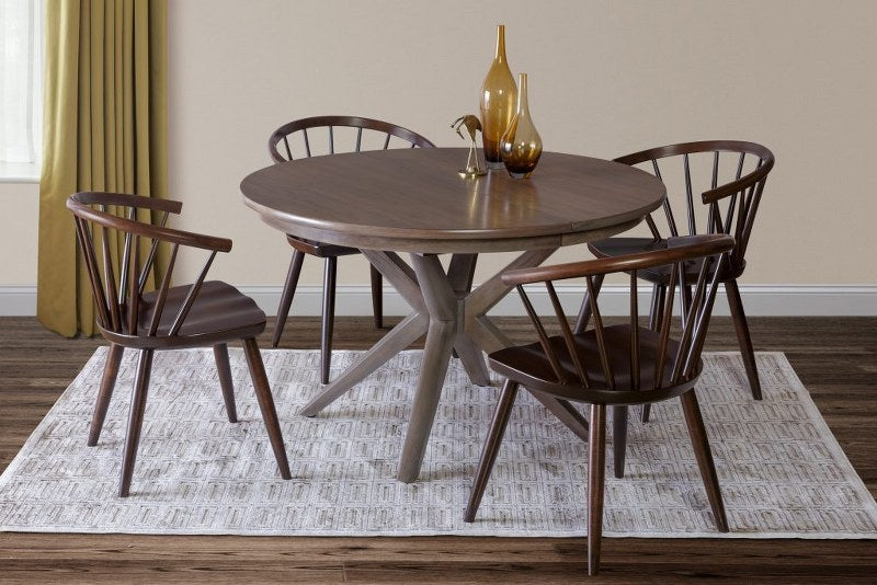 Traverse Round Dining Table (Zimmermans #4600/#4602)