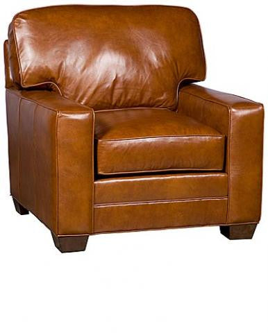 Winston Leather Chair (King Hickory # 7401-TLM-L)