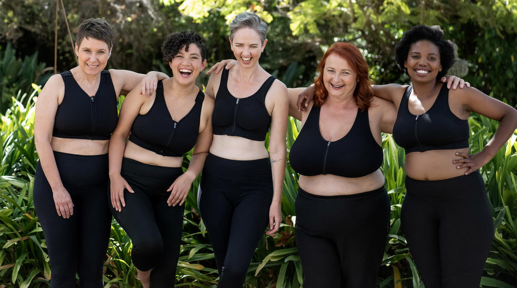 Prairie Wear - Expertly designed bras that feel like a Hug. Body friendly bras for a wide variety of body sizes and shapes, comfortable bra for post-surgical, lymphedema and every day support. Post-surgical bra. Lymphedema bra. Every day bra.