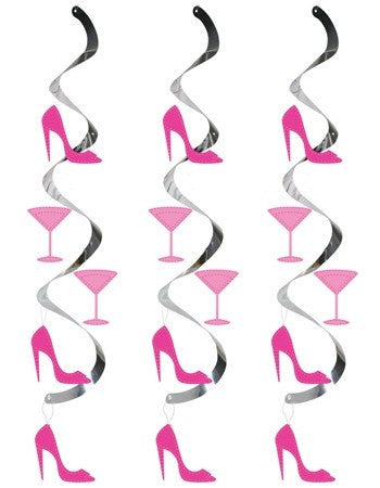 Martini Glass Party Whirls