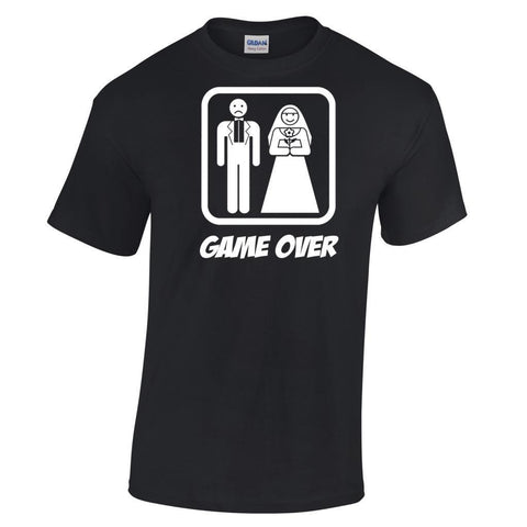 """Game Over"" Men's Divorce T Shirt"
