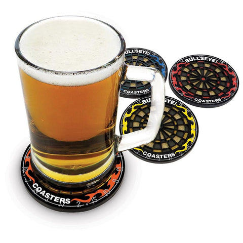 Bulls Eye Dart Board Coasters