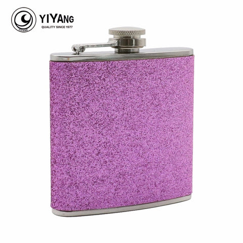 6 ounce Pink Flask